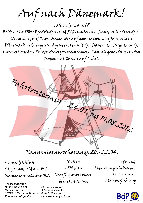 Großfahrt Daenemark Flyer